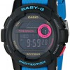 G-Shock Womens BGD180 Glide with Tide Graph Baby-G Blue Series Luxury Watch – Black/Blue / One Size